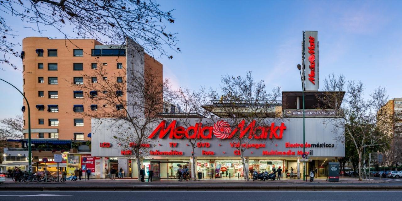 Vista panorámica del Centro Comercial El Mirador