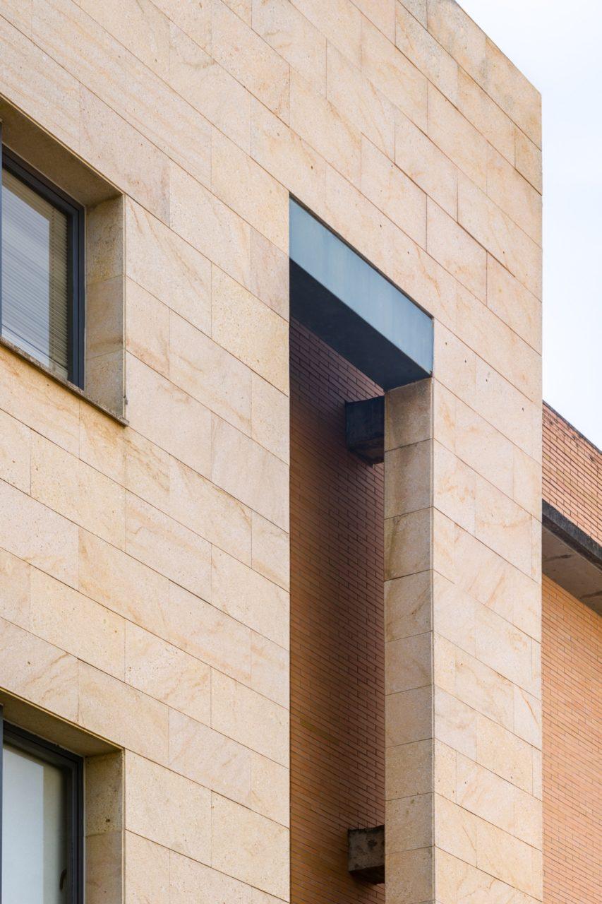 Detalle constructivo de fachada