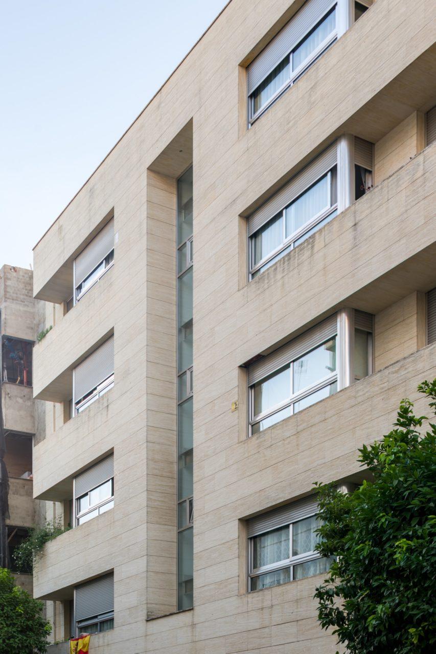 Vista de la fachada desde pie de calle