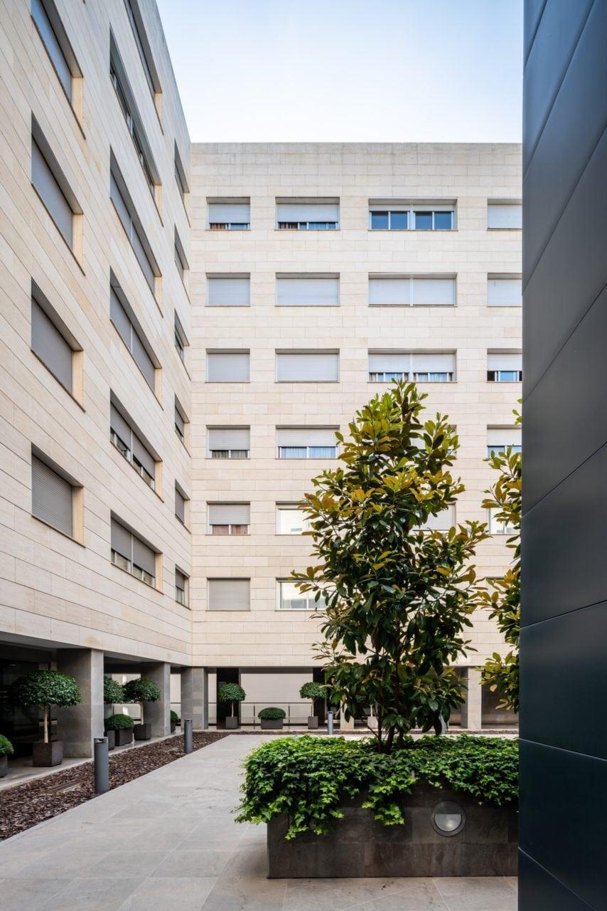 Espacios comunes interiores de la Urbanización Acueducto