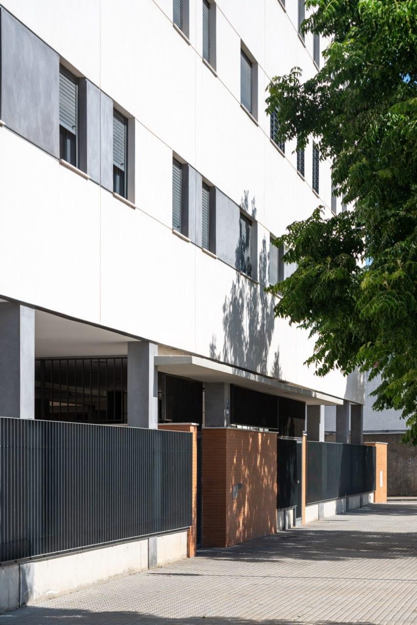 Accesos al edificio