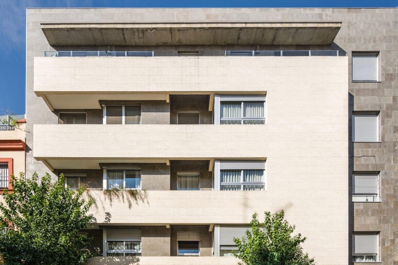Fachada del Edificio Monte Carmelo 38