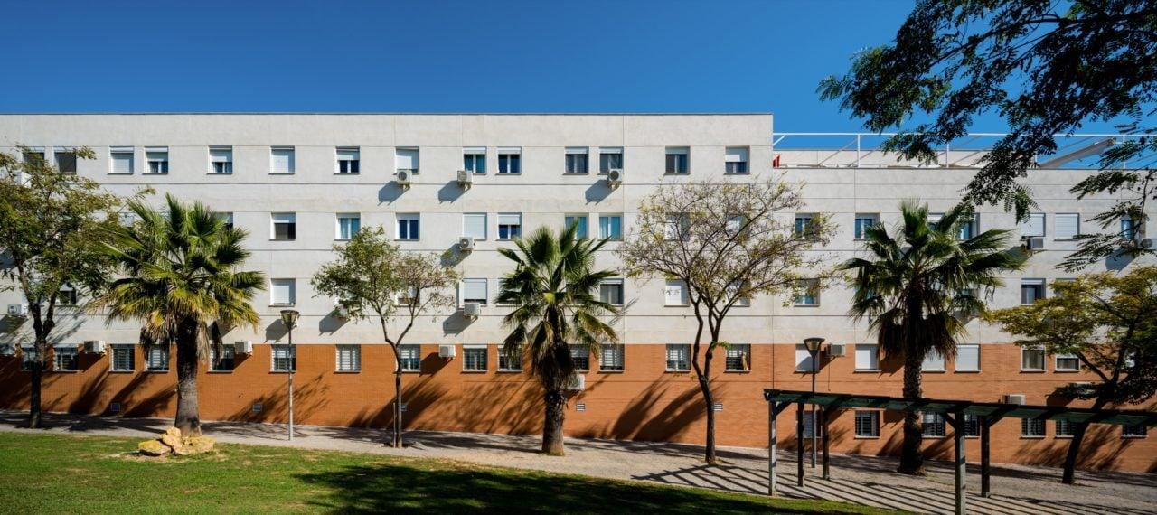 Vista panorámica del edificio