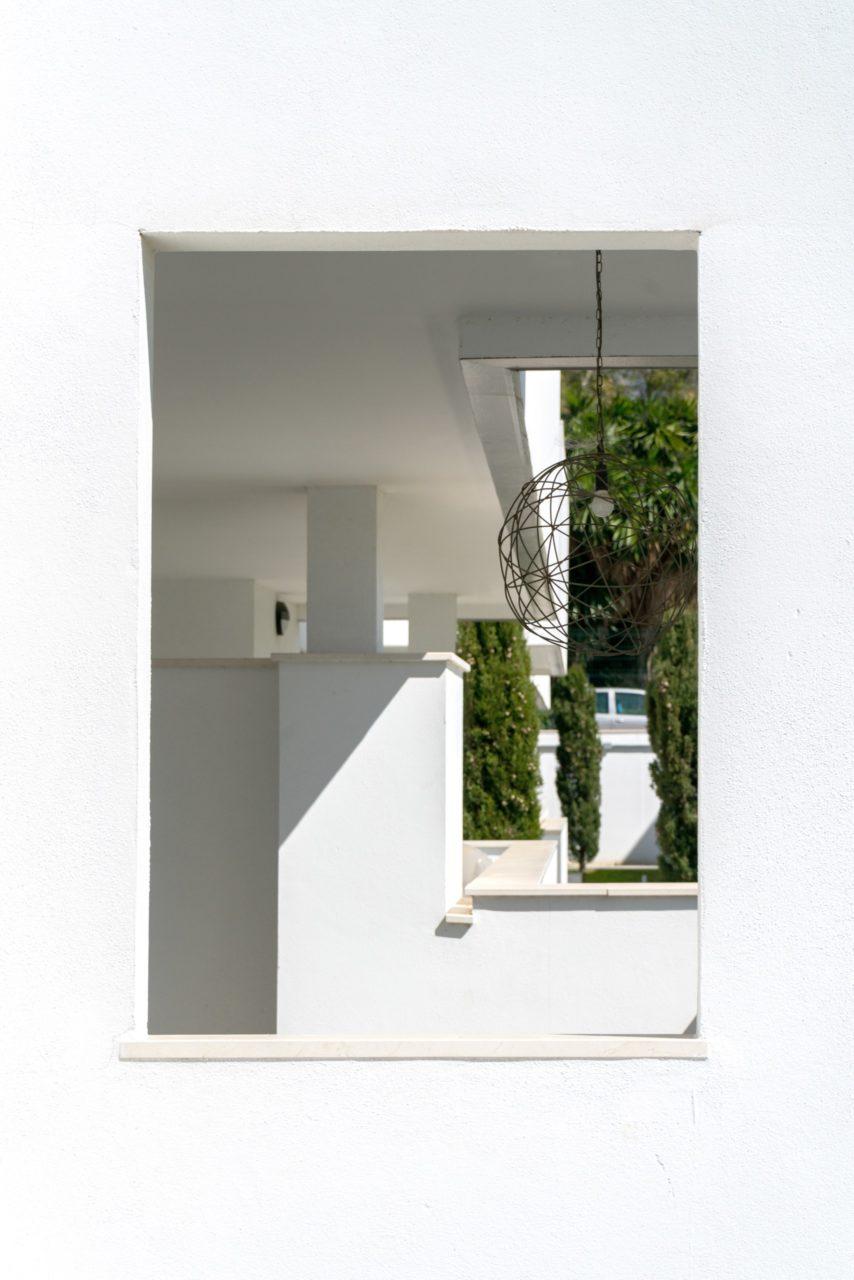 Detalle de una lámpara de techo
