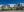 Vista panorámica de varias vivienda en la que se aprecia el desnivel de la parcela