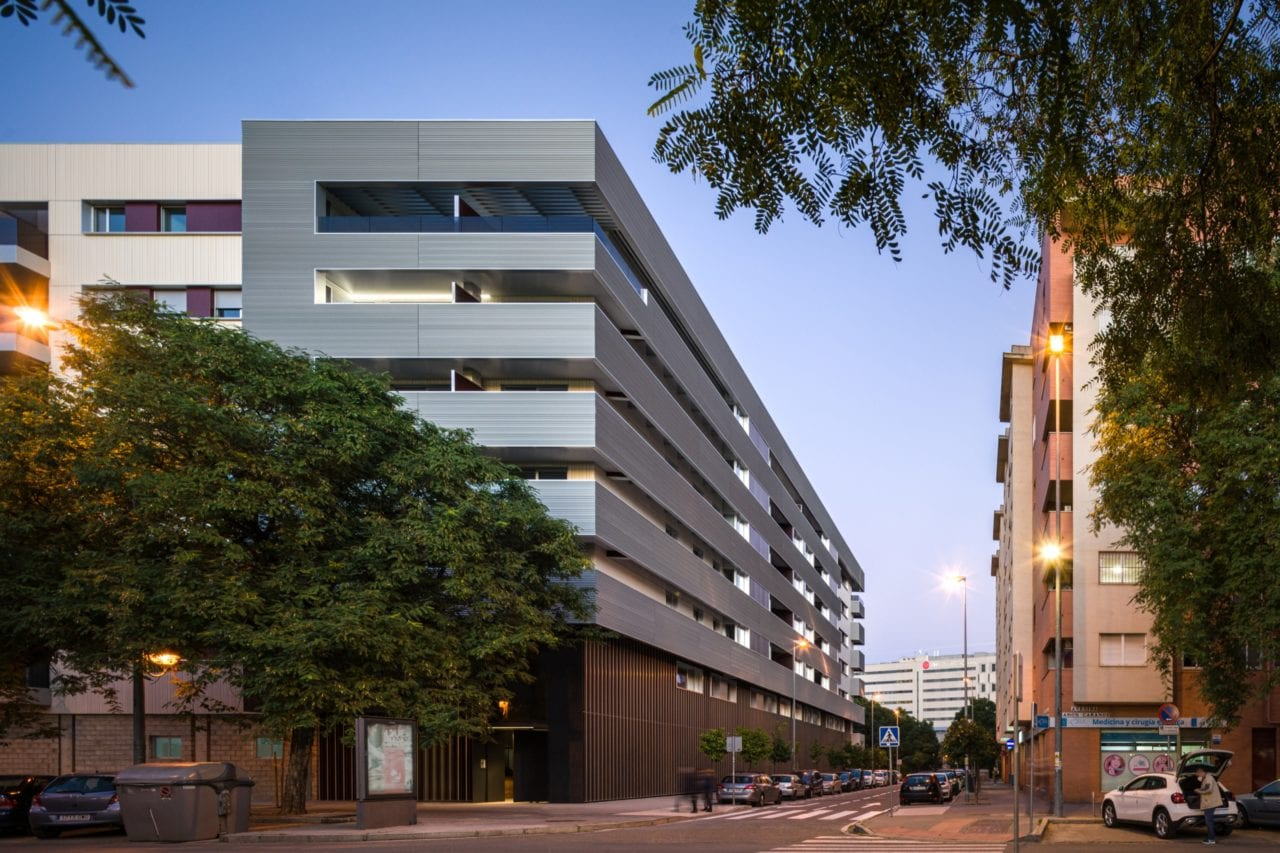 Vista general del complejo residencial Ramón Carande
