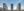 Vista panorámica frontal de las tres torres de Residencial Pineda Parque