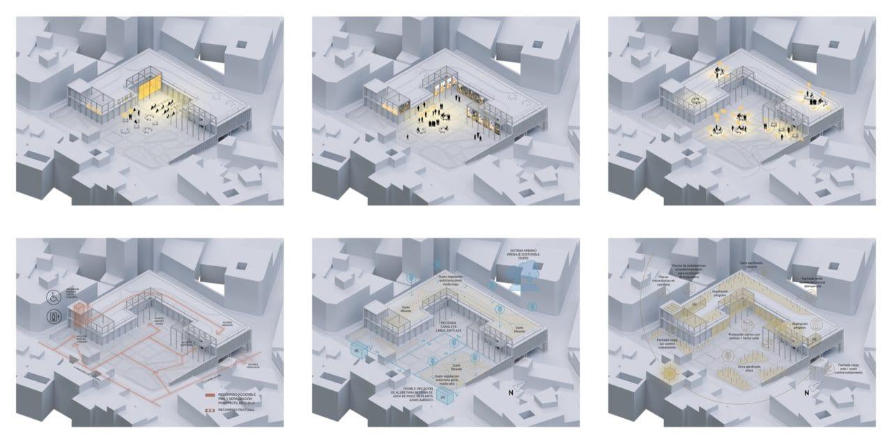 Conjunto de planos esquemáticos
