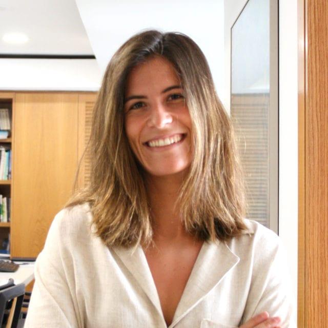 Fotografia retrato de Maria Pumar, Ingeniera en prácticas en DPYA